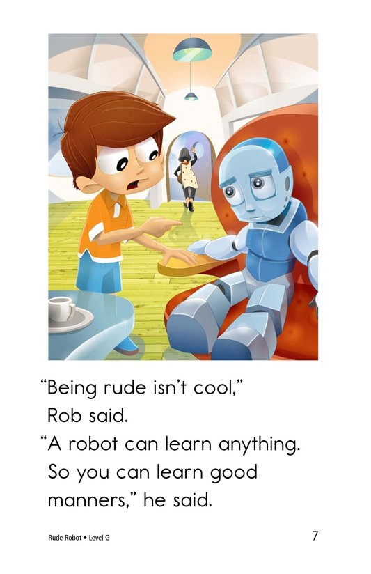 Book Preview For Rude Robot Page 7