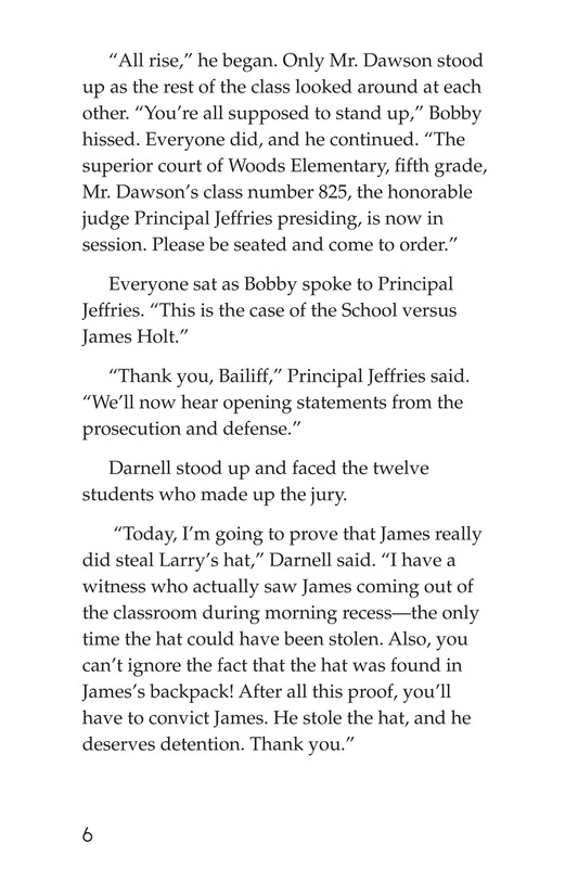Book Preview For The School Versus James Holt Page 6