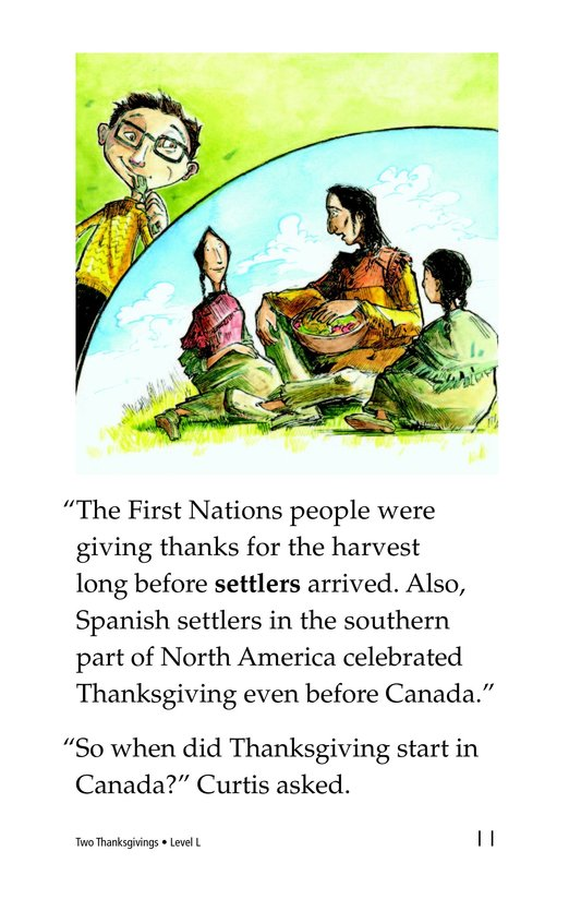 Book Preview For Two Thanksgivings Page 11