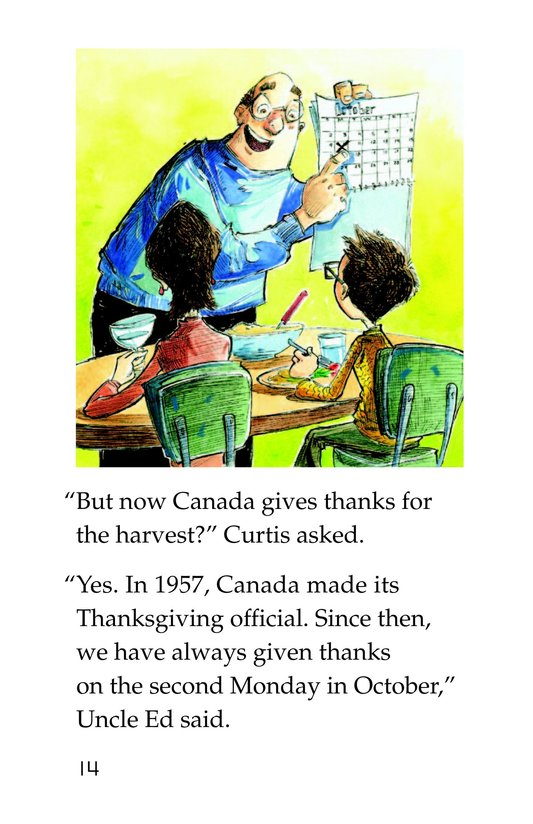 Book Preview For Two Thanksgivings Page 14