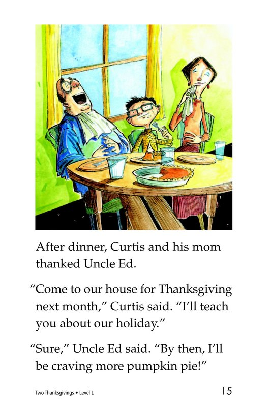 Book Preview For Two Thanksgivings Page 15