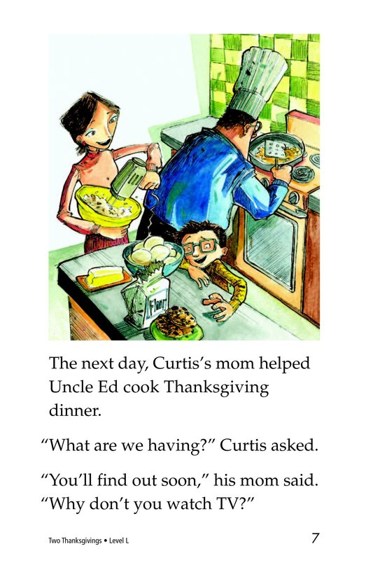 Book Preview For Two Thanksgivings Page 7