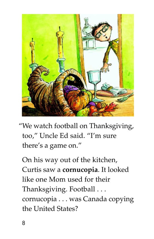 Book Preview For Two Thanksgivings Page 8