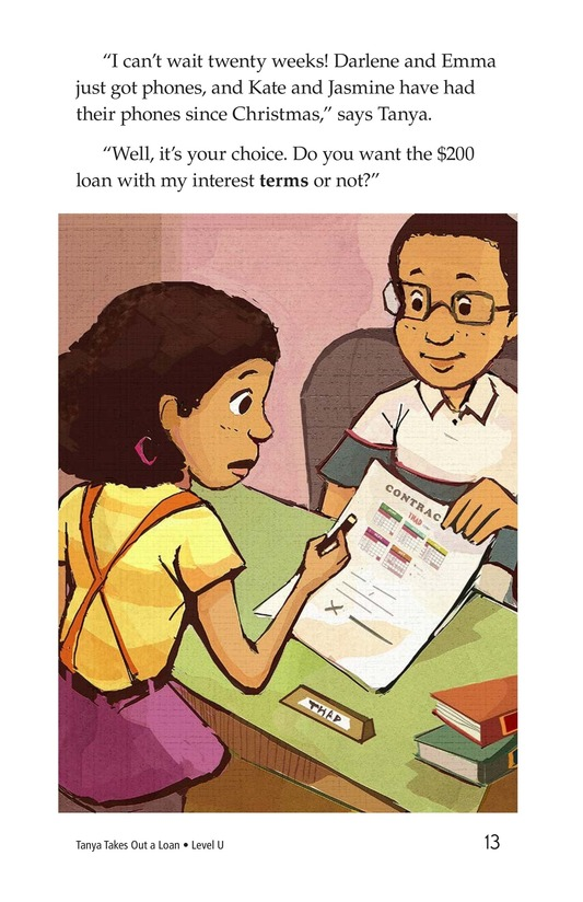 Book Preview For Tanya's Money Problem Page 13