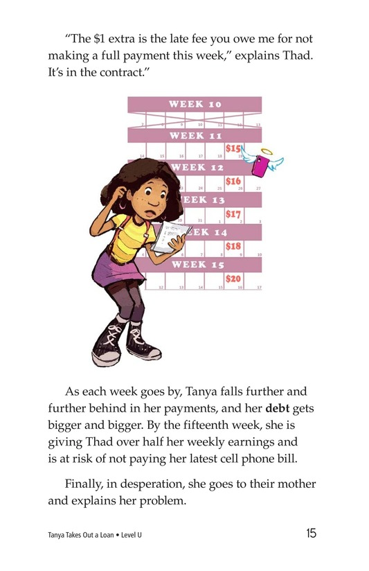 Book Preview For Tanya's Money Problem Page 15