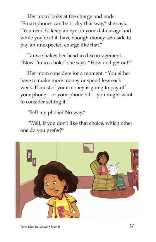 Book Preview For Tanya's Money Problem Page 17