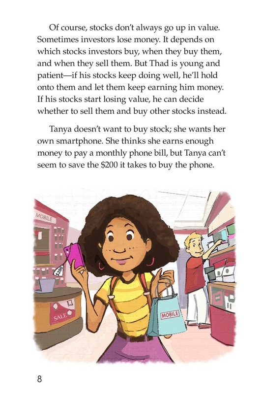 Book Preview For Tanya's Money Problem Page 8