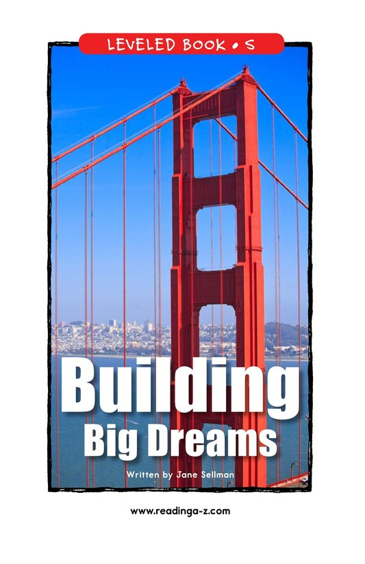 Book Preview For Building Big Dreams Page 1