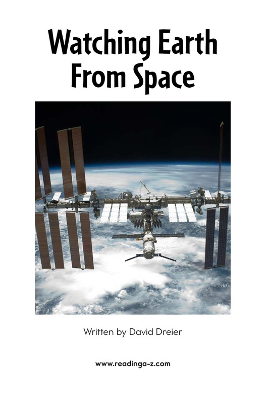Book Preview For Watching Earth From Space Page 2