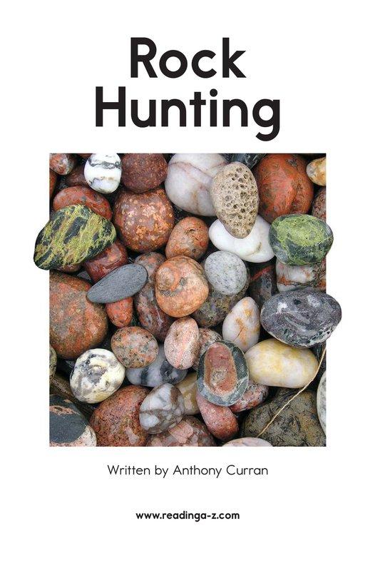Book Preview For Rock Hunting Page 2