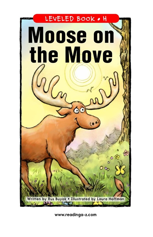 Book Preview For Moose on the Move Page 1