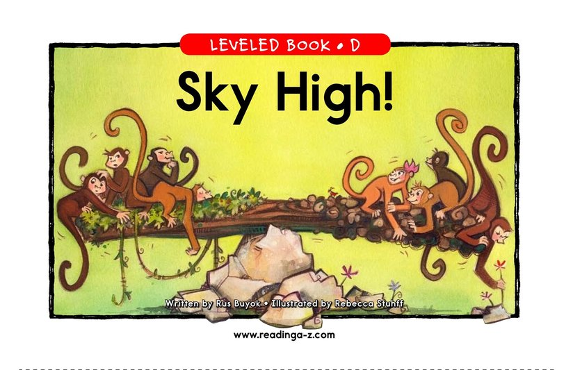 Book Preview For Sky High! Page 1