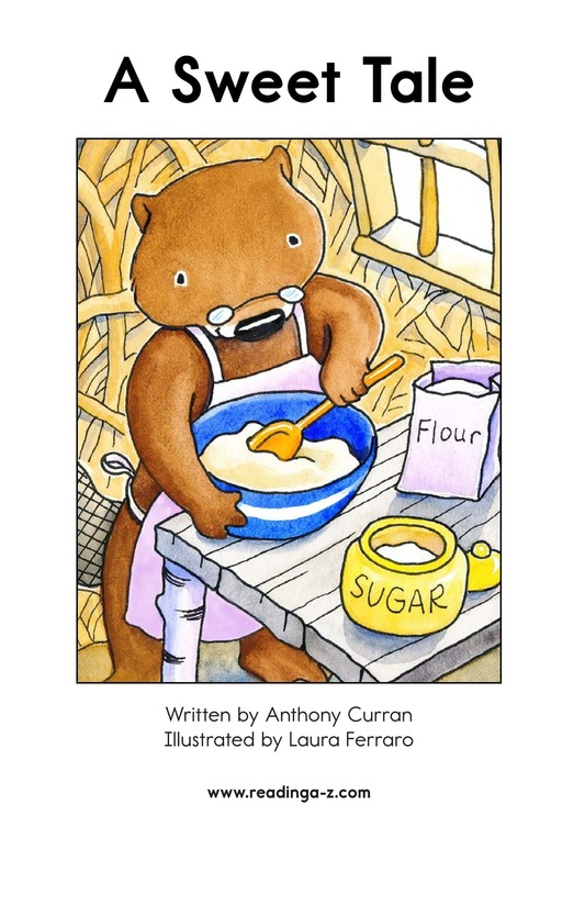 Book Preview For A Sweet Tale Page 2