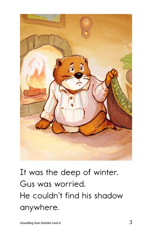 Book Preview For Groundhog Goes Outside Page 3