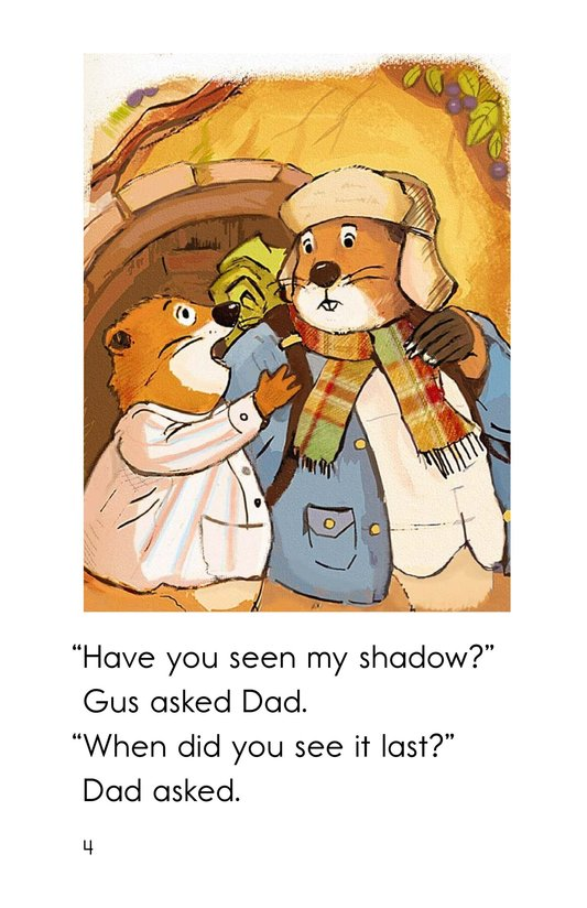 Book Preview For Groundhog Goes Outside Page 4