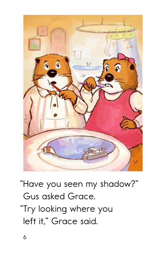 Book Preview For Groundhog Goes Outside Page 6