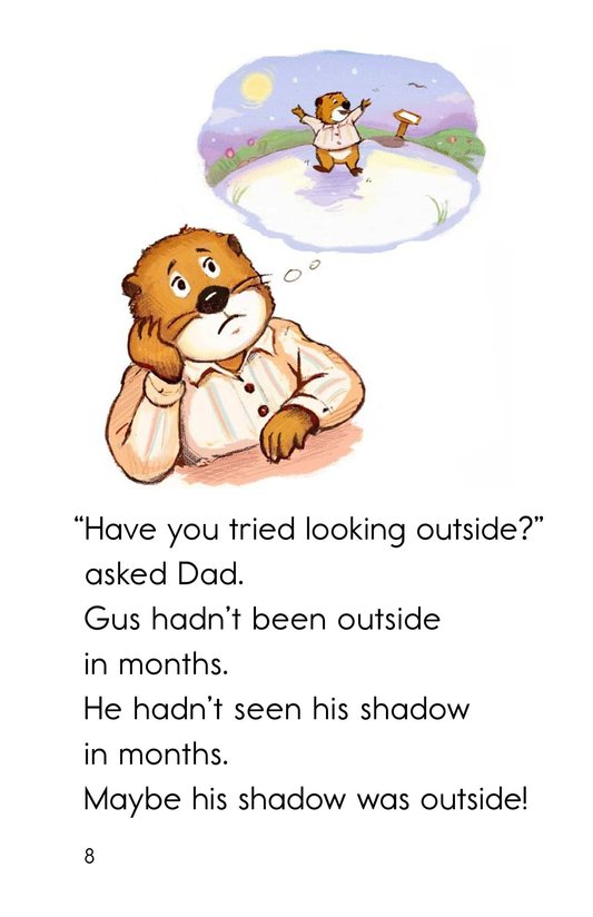 Book Preview For Groundhog Goes Outside Page 8