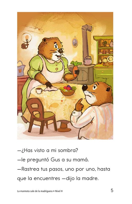 Book Preview For Groundhog Goes Outside Page 5