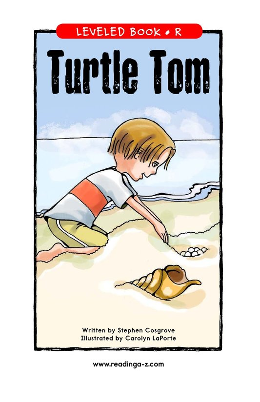 Book Preview For Turtle Tom Page 1