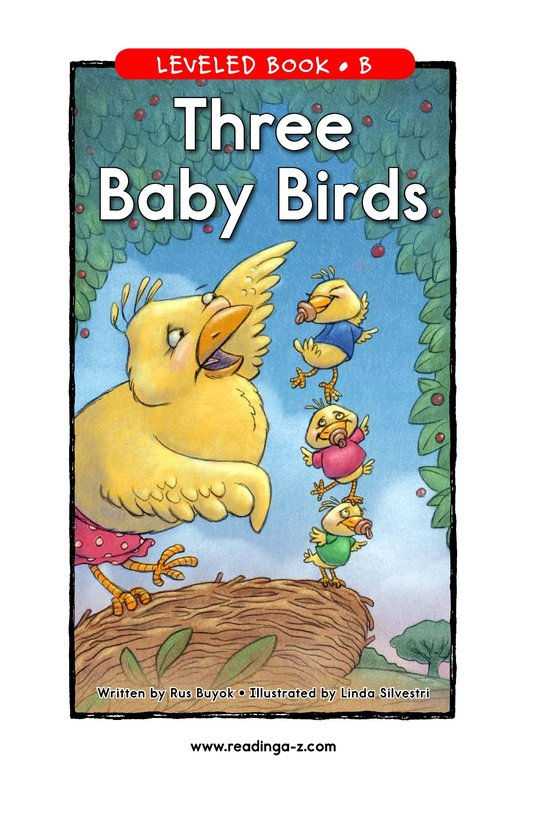 Book Preview For Three Baby Birds Page 1