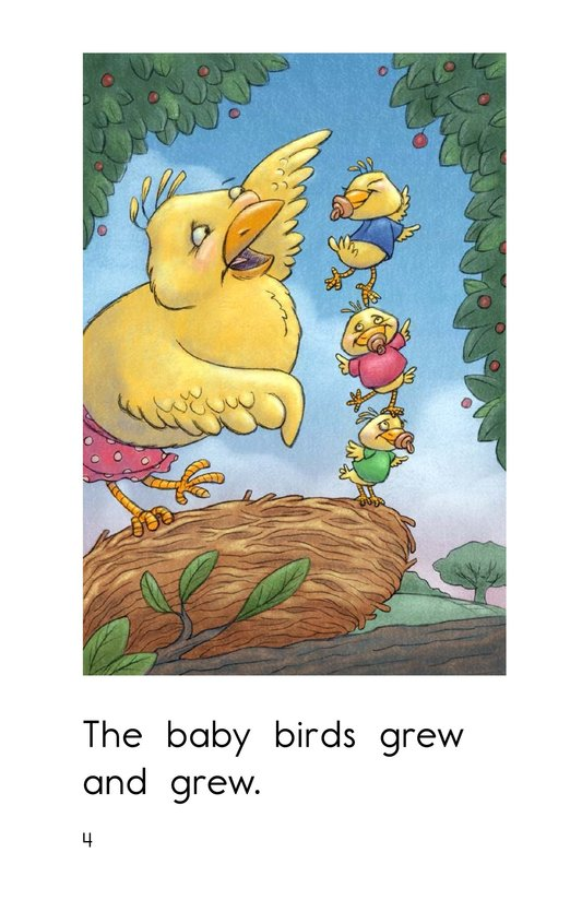 Book Preview For Three Baby Birds Page 4