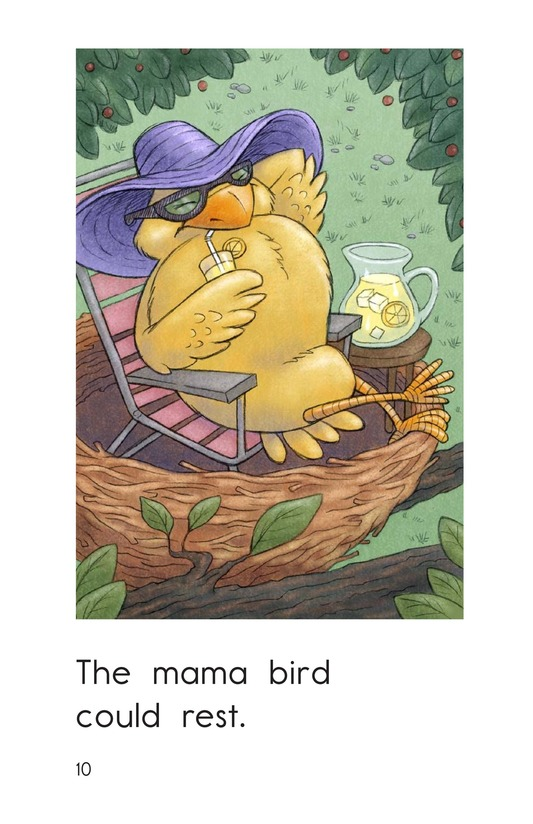 Book Preview For Three Baby Birds Page 10