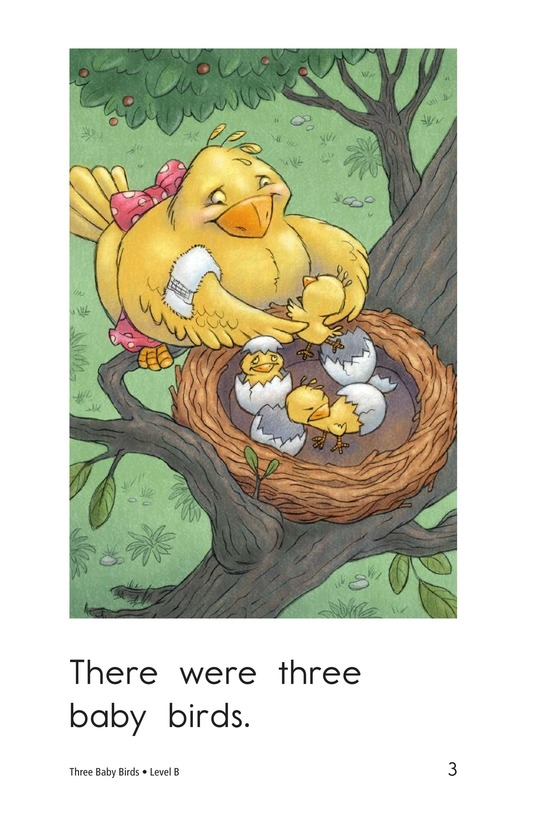 Book Preview For Three Baby Birds Page 3