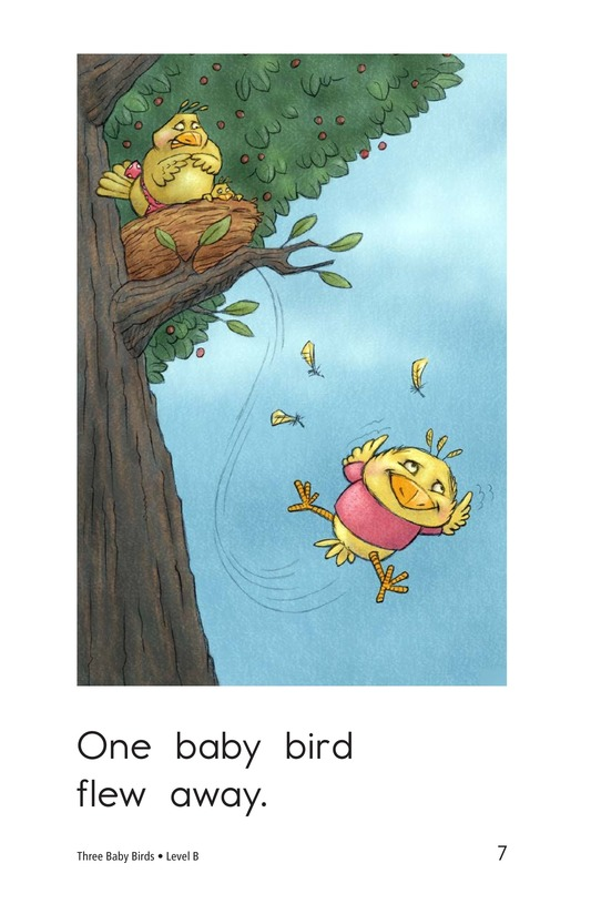 Book Preview For Three Baby Birds Page 7