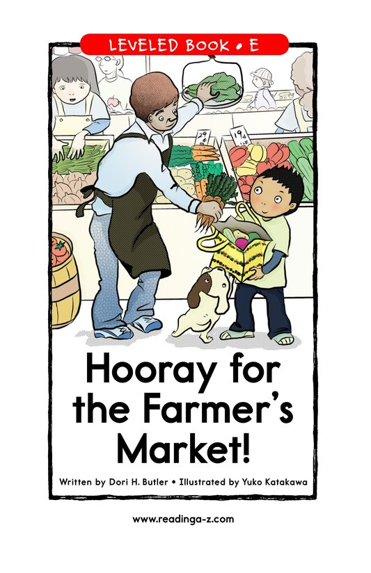 Book Preview For Hooray for the Farmer's Market! Page 1