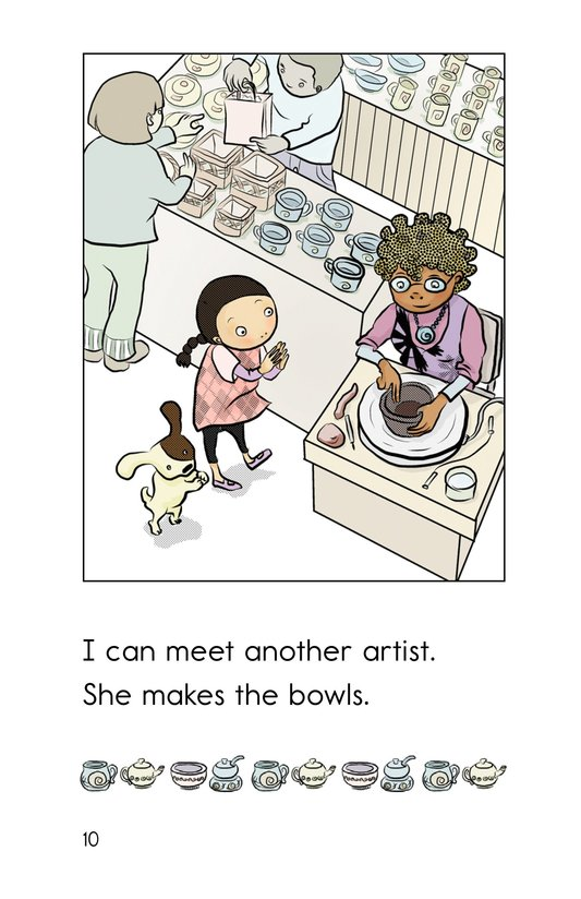 Book Preview For Hooray for the Farmer's Market! Page 10