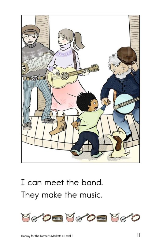 Book Preview For Hooray for the Farmer's Market! Page 11