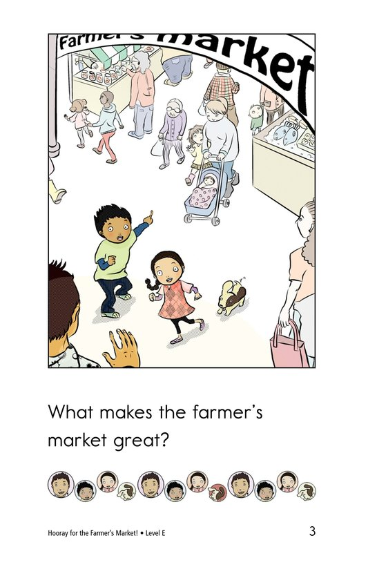 Book Preview For Hooray for the Farmer's Market! Page 3