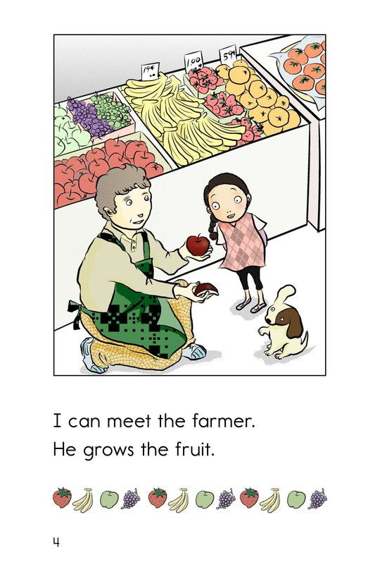 Book Preview For Hooray for the Farmer's Market! Page 4