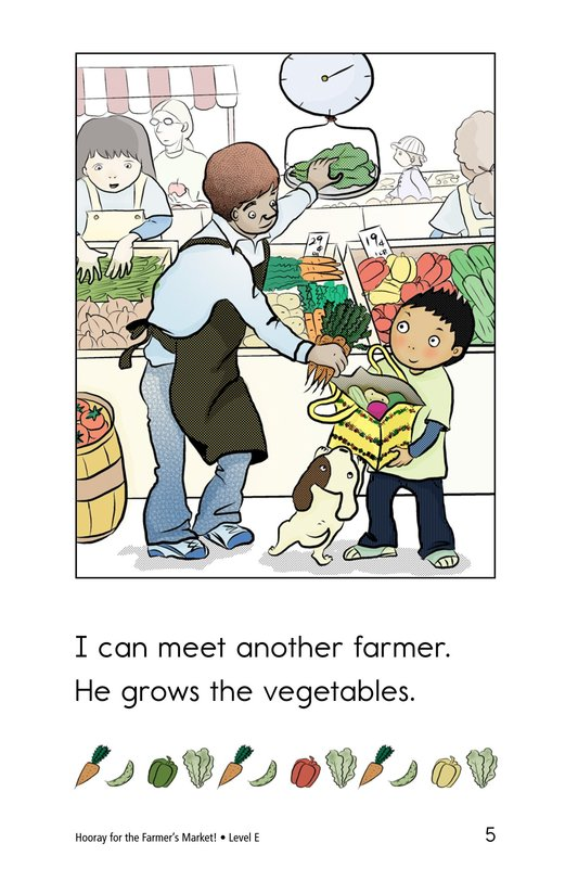 Book Preview For Hooray for the Farmer's Market! Page 5