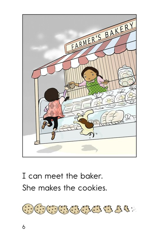 Book Preview For Hooray for the Farmer's Market! Page 6