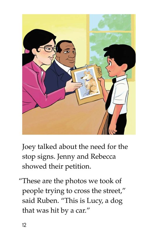 Book Preview For Joey's Stop Sign Page 12