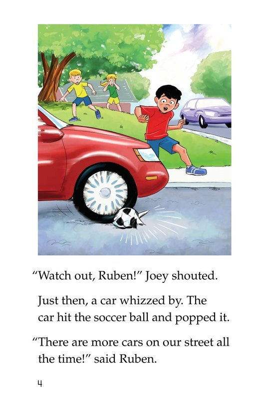 Book Preview For Joey's Stop Sign Page 4