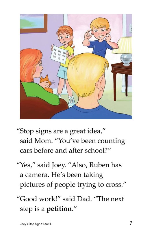 Book Preview For Joey's Stop Sign Page 7