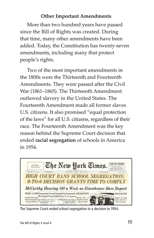 Book Preview For The Bill of Rights Page 19