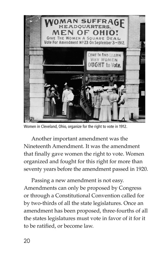 Book Preview For The Bill of Rights Page 20