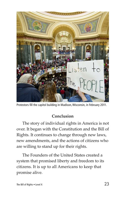 Book Preview For The Bill of Rights Page 23