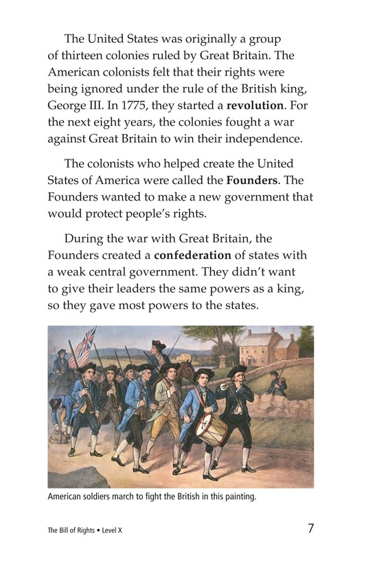 Book Preview For The Bill of Rights Page 7