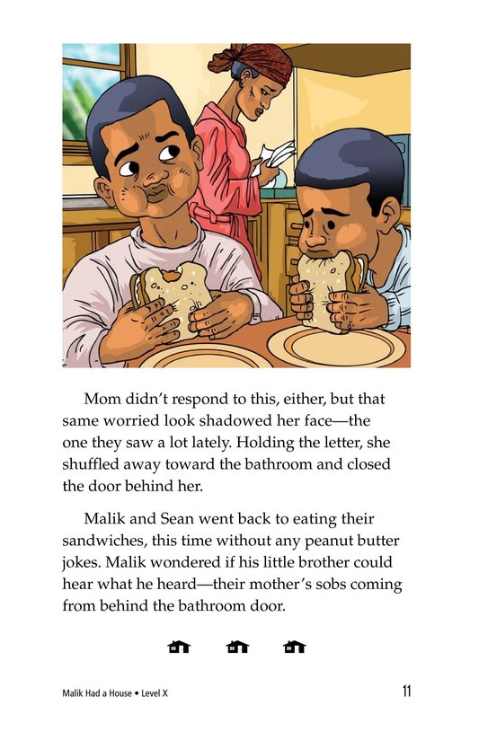 Book Preview For Malik Had a House Page 11