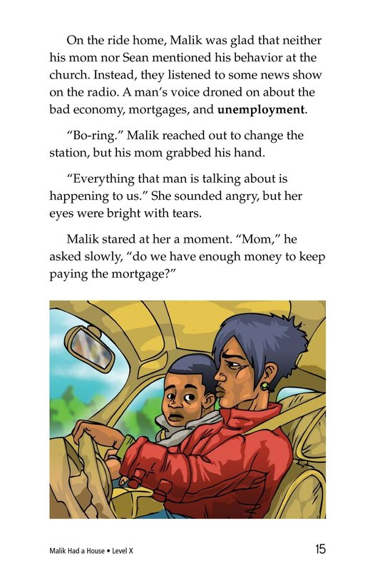 Book Preview For Malik Had a House Page 15