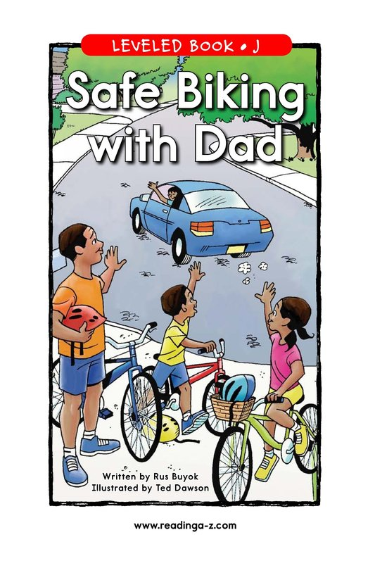 Book Preview For Safe Biking with Dad Page 1