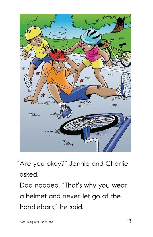 Book Preview For Safe Biking with Dad Page 13
