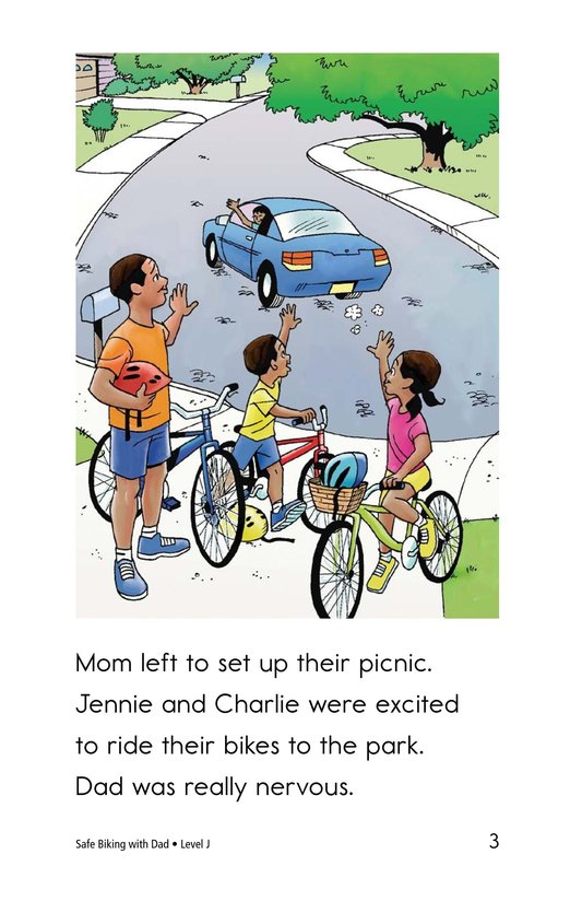 Book Preview For Safe Biking with Dad Page 3