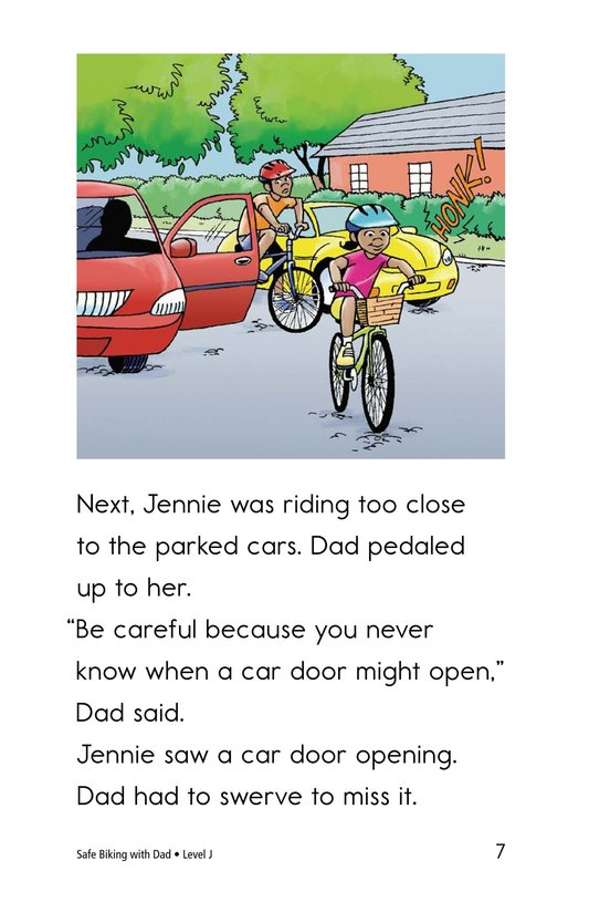 Book Preview For Safe Biking with Dad Page 7