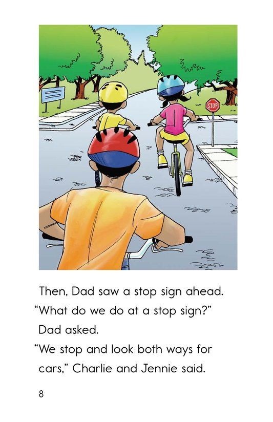 Book Preview For Safe Biking with Dad Page 8