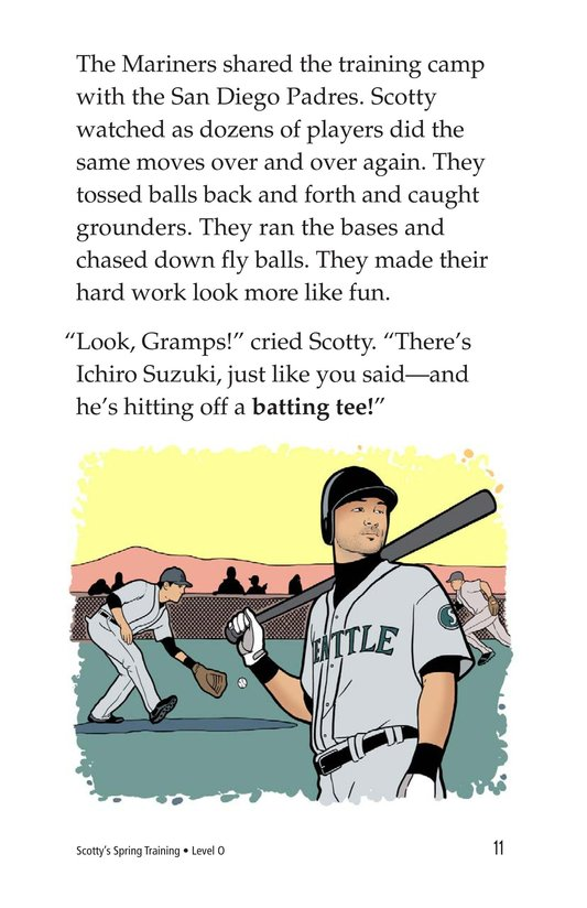 Book Preview For Scotty's Spring Training Page 11